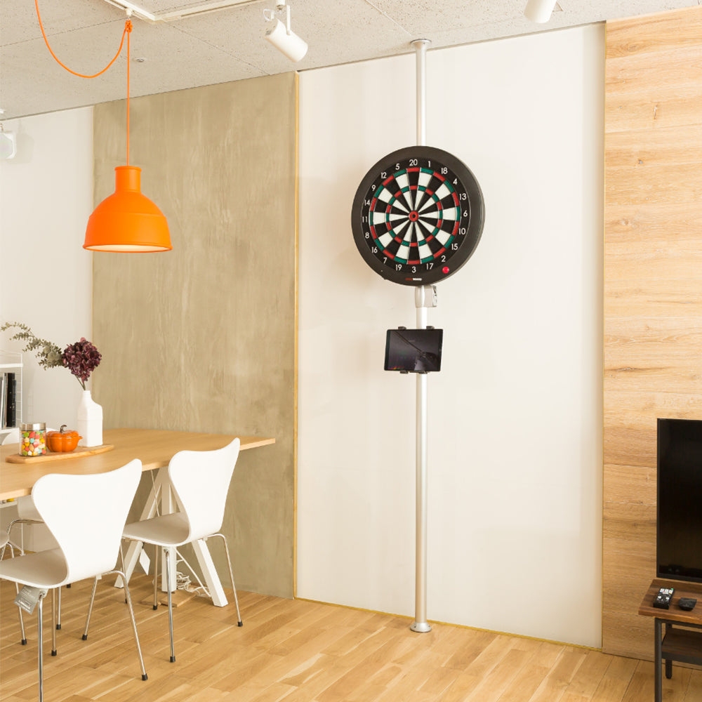 Easily mount the Granboard 3s in any room in the house to enjoy darts at home