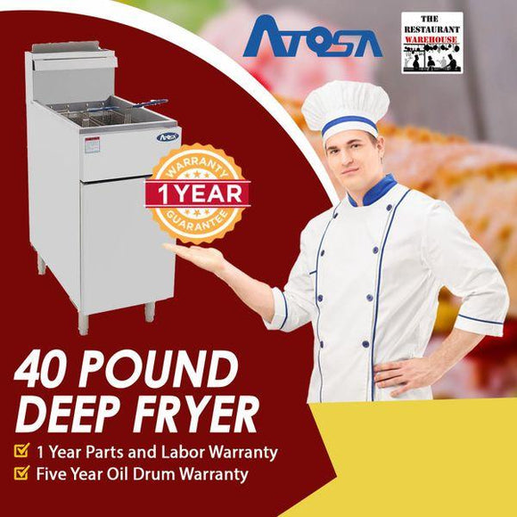 40 Pound Deep Fryer