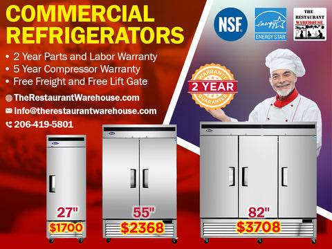 NSF Rated Commercial Refrigeration