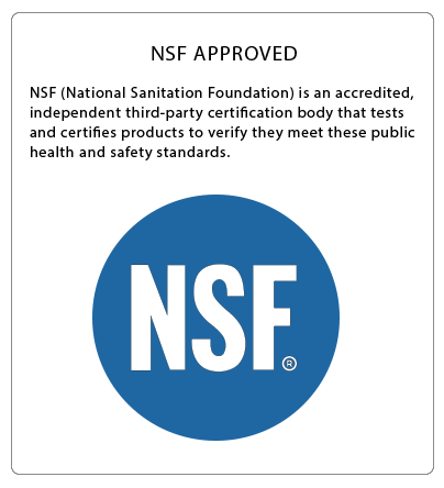 NSF Rated