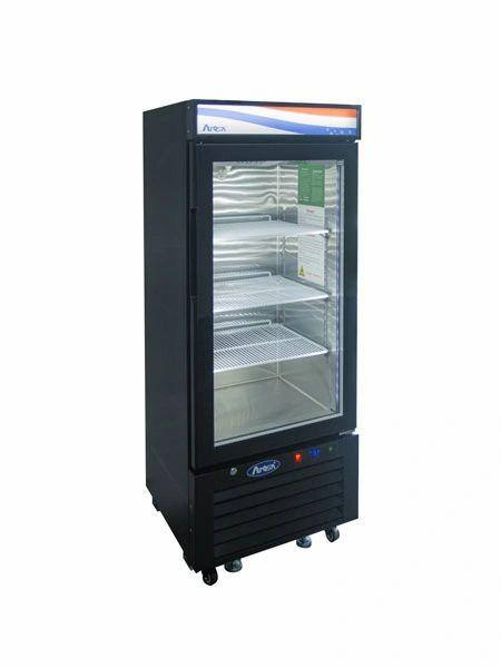 Atosa USA MCF8726GR Glass Merchandiser Cooler 8.3 cu. ft.