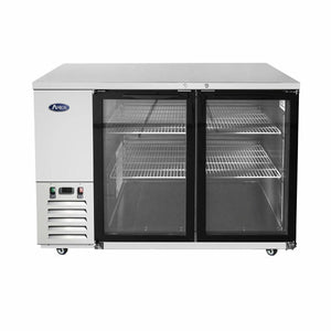 Atosa USA MBB59G 59 inch Glass Door Back Bar Cooler