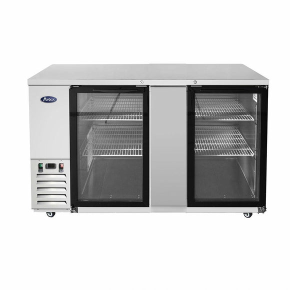 Atosa USA MBB69G 69 inch Glass Door Back Bar Cooler