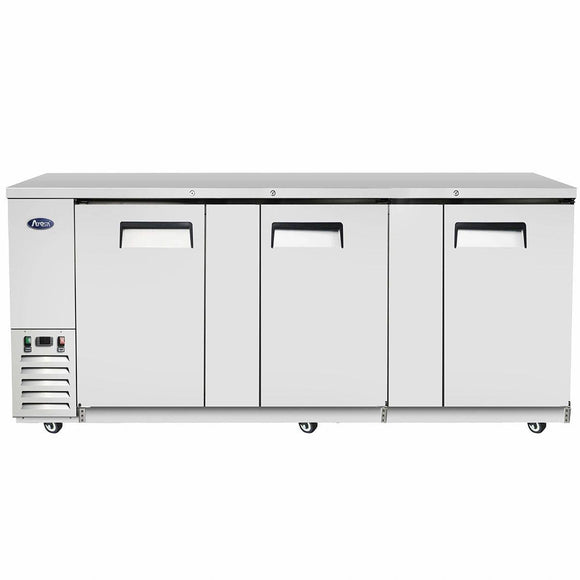 Atosa USA MBB90 90 inch Solid Door Back Bar Cooler