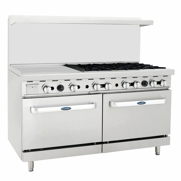 Atosa USA ATO-24G6B 24-Inch Griddle Six Burner Propane Gas Range