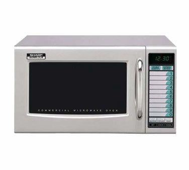 Sharp R-21LVF Commercial Microwave - 1000 Watts