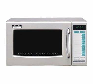 Sharp R-21LTF Commercial Microwave - 1000 Watts