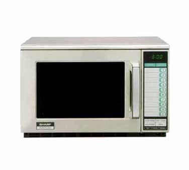 Sharp R-22GTF Commercial Microwave - 1200 Watts