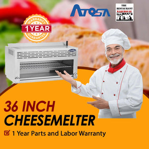 "Atosa USA ATCM-36 36"" Cheesemelter Natural Gas"