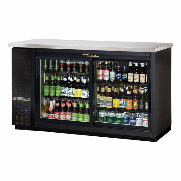 True TBB-24-60G-SD-HC-LD Back Bar Cabinet, Refrigerated