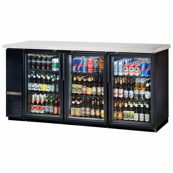 True TBB-24-72G-HC-LD Back Bar Cabinet, Refrigerated