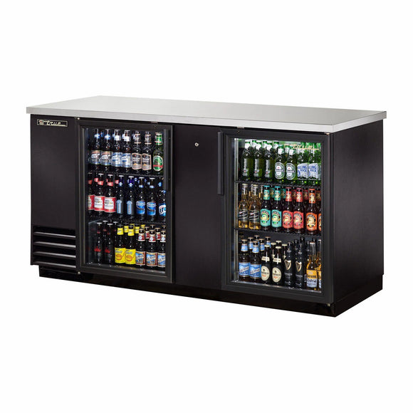 True TBB-3G-HC-LD Back Bar Cabinet, Refrigerated