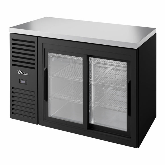 True TBR48-RISZ1-L-B-11-1 Back Bar Cabinet, Refrigerated