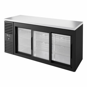 True TBR72-RISZ1-L-B-111-1 Back Bar Cabinet, Refrigerated