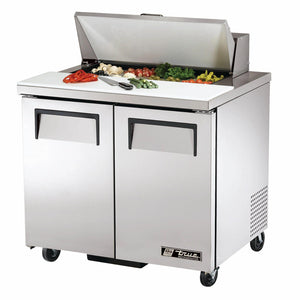True TSSU-36-08-HC 36 inch Sandwich Prep Table