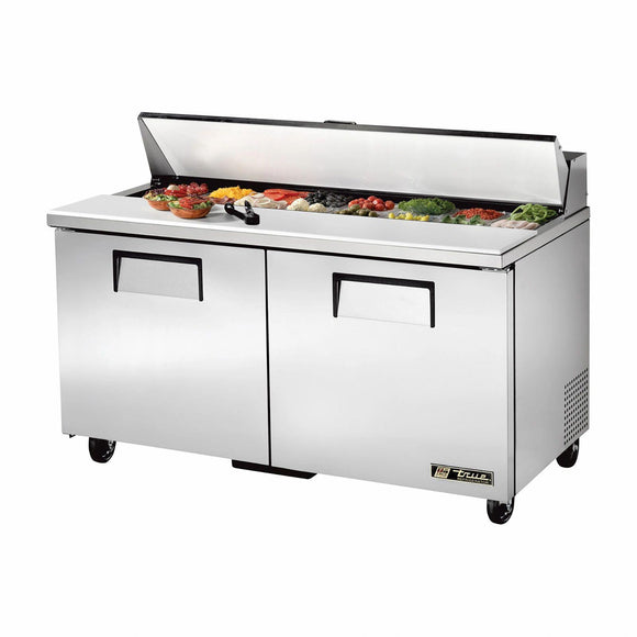 True TSSU-60-16-HC 60 inch Sandwich Prep Table