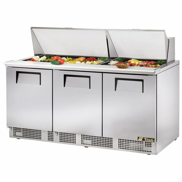 True TFP-72-30M 72 inch Mega Top Sandwich Prep Table