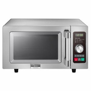 Midea 1025F2A 1000 Watts Commercial Microwave Oven - 0.9 cu. ft.