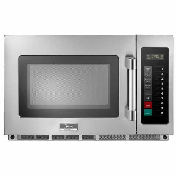 Midea 1834G1A 1800 Watts Commercial Microwave Oven - 1.2 cu. ft.