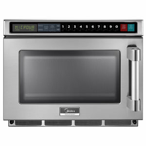 Midea 2117G1A 2100 Watts Commercial Microwave Oven - 0.6 cu. ft.