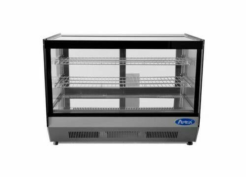 Atosa USA CRDS-56 Countertop Refrigerated Display Case Square 4.6 cu. ft.