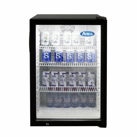 Atosa USA CTD-5 Countertop Refrigerated Merchandiser 5 cu. ft.
