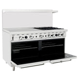 Atosa USA ATO-36G4B 36-Inch Griddle Four Burner Natural Gas Range