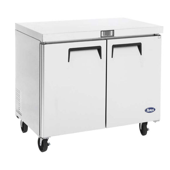Atosa USA MGF36FGR Undercounter 36-Inch Two Door Freezer