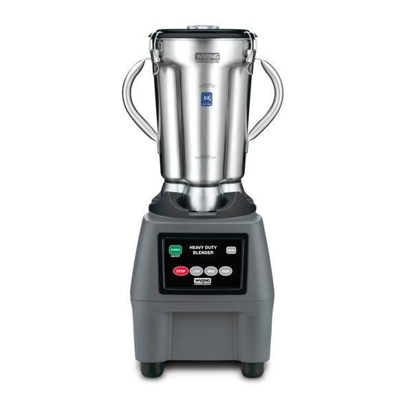 Waring Commercial CB15 One Gallon, 3.75 HP Blender, Electronic Touchpad Controls