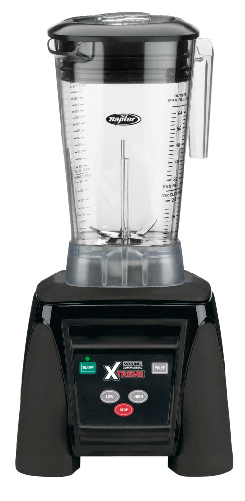 Waring Commercial MX1050XTX 3.5 HP Blender with Electronic Keypad and 64 oz. BPA-Free Copolyester Container