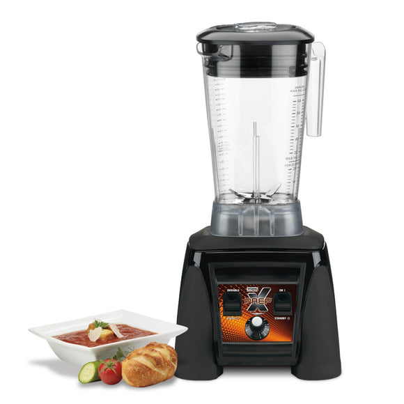 Waring Commercial MX1200XTX 3.5 HP Blender with Variable Speed Dial Controls and 64 oz. BPA-Free Copolyester Container