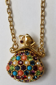 D'Orlan Buried Treasure Pendant