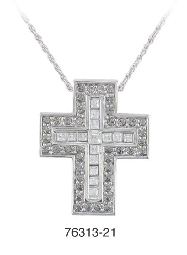 D'Orlan Cross Pendant