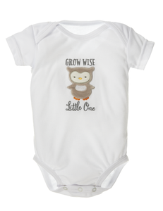 Woodland Wishes Owl Diaper Shirt