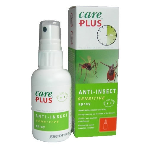 CARE PLUS ICARIDIN 20% DEET FREE INSECT REPELLENT - 100ML