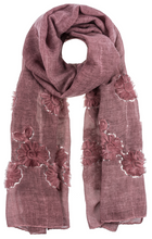 Load image into Gallery viewer, Embroidered Flower Scarves
