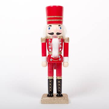 "Red 10"" Nutcracker"