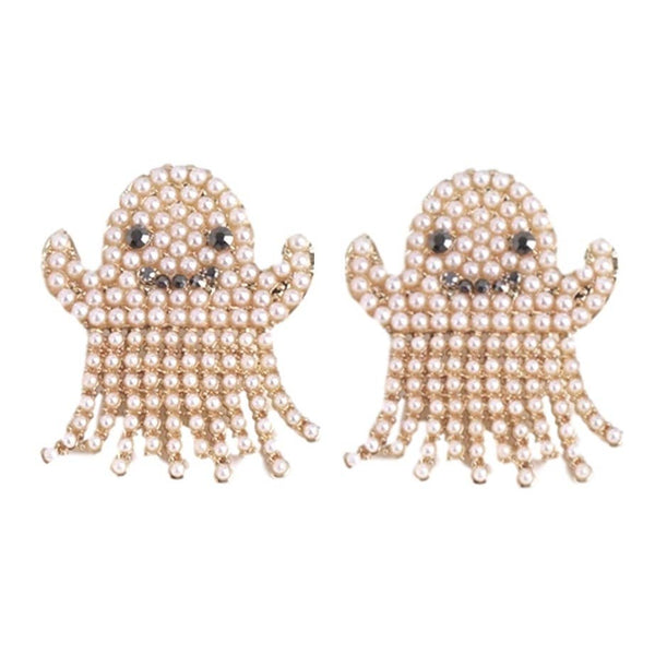 Pearl Ghost Earrings