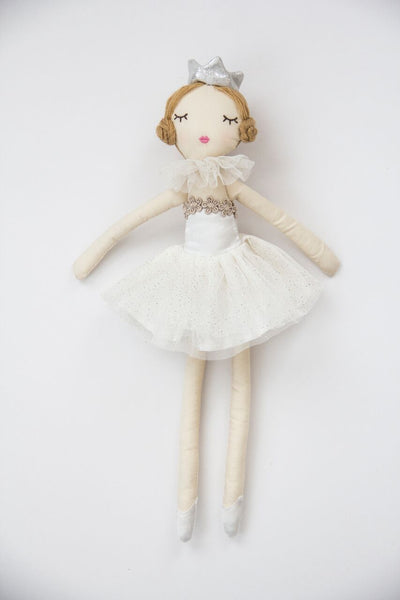 Miss Rose Sister Violet - TOYS - Small Doll - White