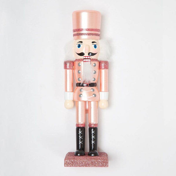 "Rose gold 10"" Nutcracker"
