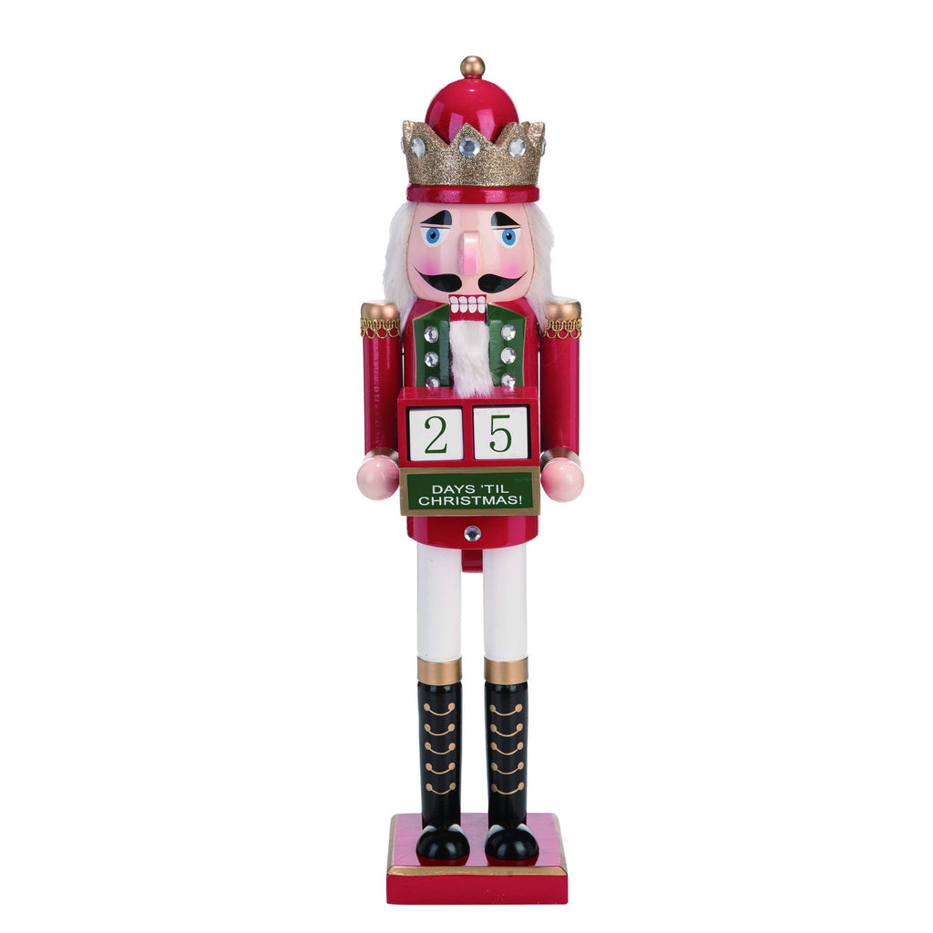 Christmas Glitz Countdown Nutcracker (studio model)