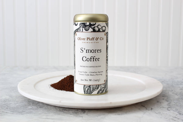 Oliver Pluff & Company - S'mores Ground Coffee - Signature Coffee Tin