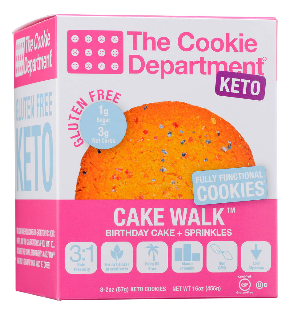 The Cookie Department - Cake Walk (Gluten Free & KETO)