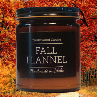 FALL FLANNEL Candle 9 oz