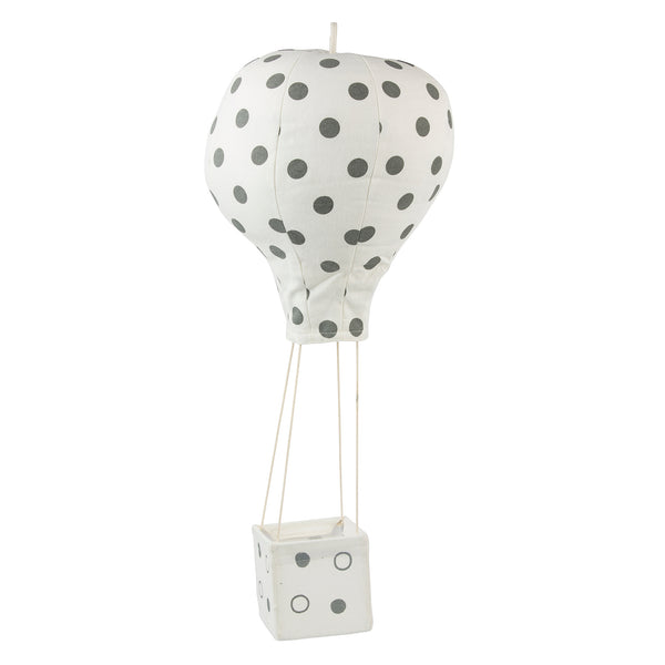 Hot Air Balloon, Polkadot_Gray_small