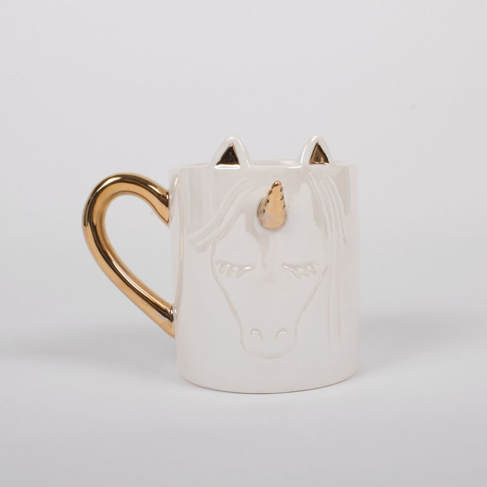 Unicorn Coffee Mug -studio model