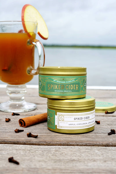 Spiked Cider Travel Tin by Rewined