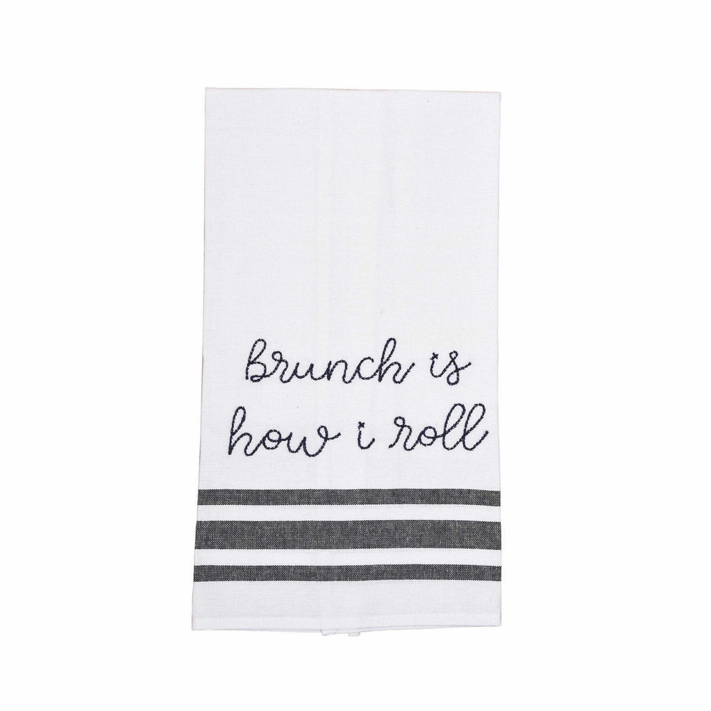 Brunch is How I Roll Tea Towel