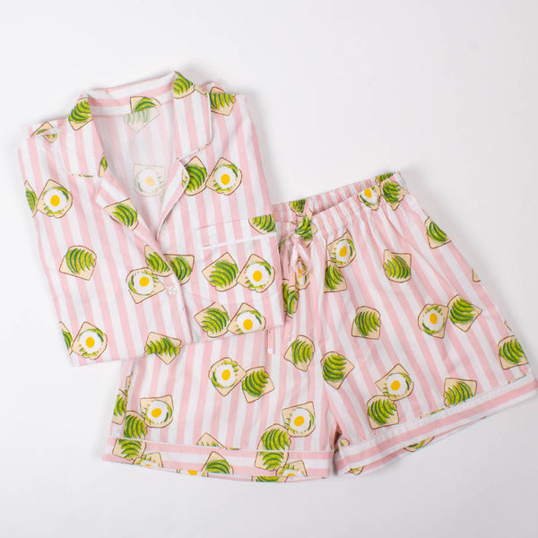 Avocado Toast PJ Set