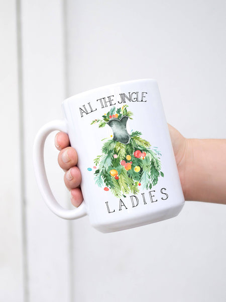 All The Jingle Ladies Christmas Mug